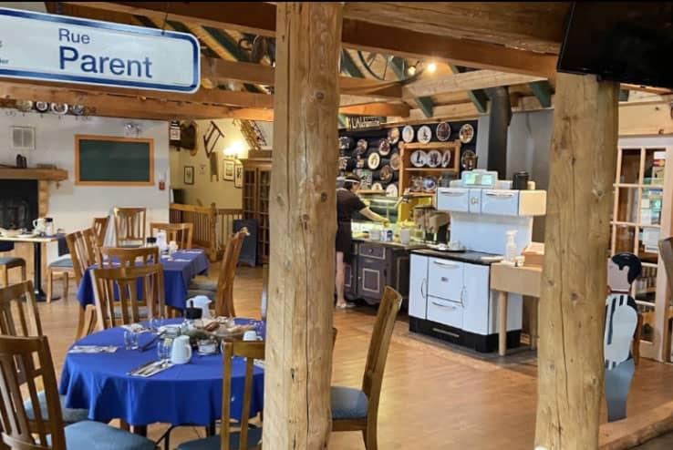 Restauration de mets raffinés du terroir à l'Auberge du Vieux Moulin, Lanaudière