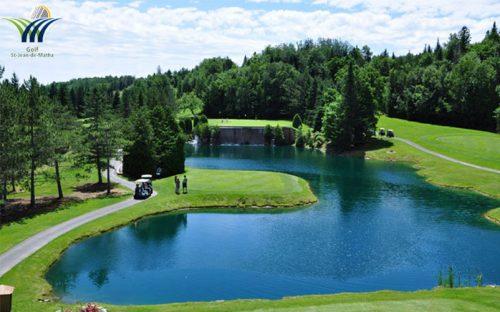 Golf - Auberge du Vieux Moulin in Lanaudière