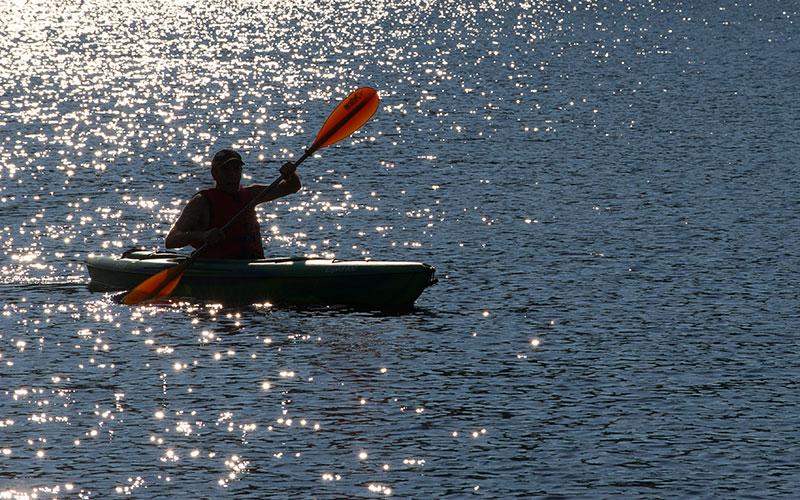 Randonnées de kayak à l'Auberge du Vieux Moulin, vacances Lanaudière