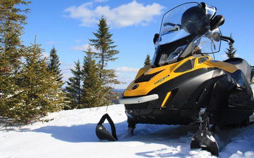 Snowmobile - Auberge du Vieux-Moulin in Lanaudière