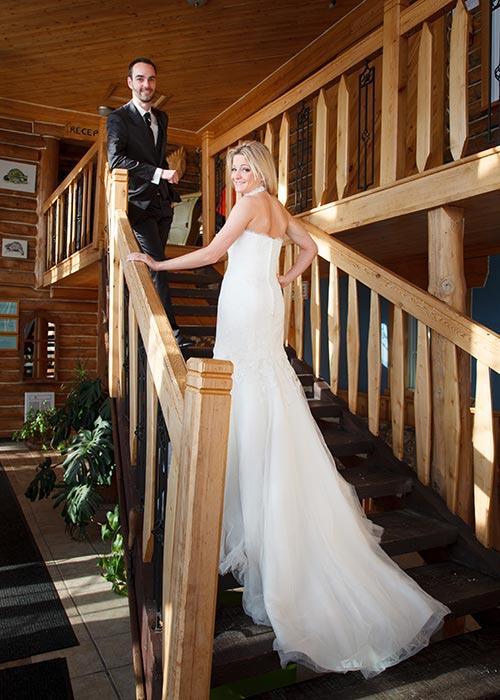 Mariage et réception à l'Auberge du Vieux-Moulin dans Lanaudière