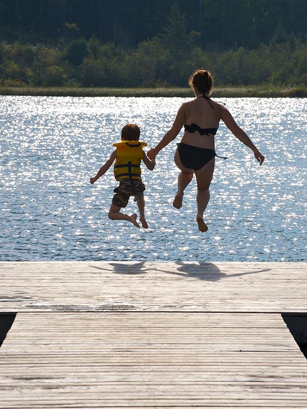 Activités estivales et automnales à l'Auberge du Vieux Moulin, vacances Lanaudière