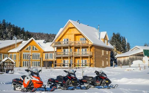 Snowmobile safari - Auberge du Vieux-Moulin in Lanaudière