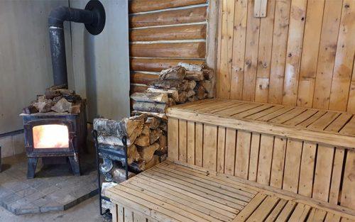 Sauna - Auberge du Vieux-Moulin in Lanaudière
