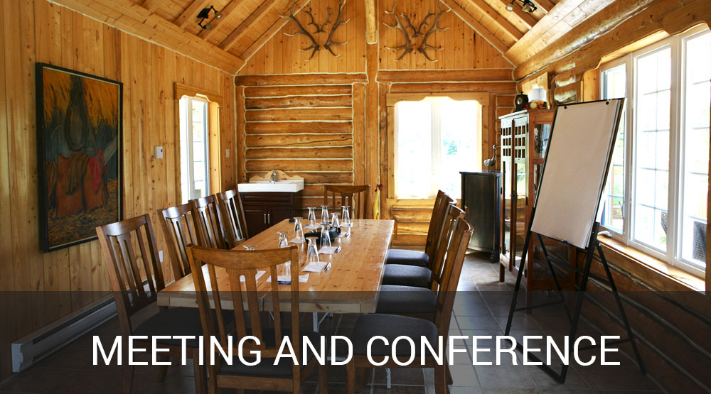 Meeting and convention at the Auberge du Vieux-Moulin in Lanaudière