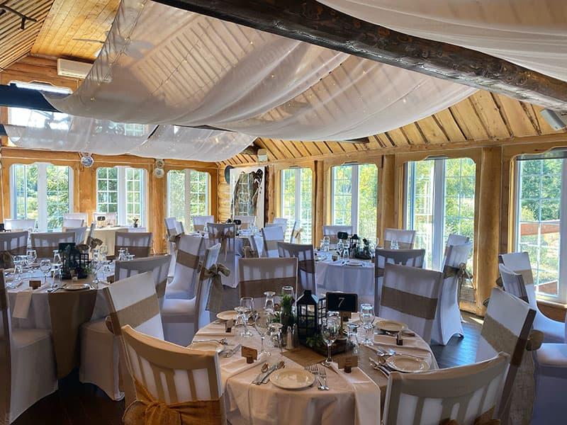 Salle de réception de mariage - Auberge du Vieux-moulin, Lanaudière